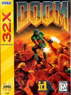 Doom - Sega 32x - Gameplay Screenshot