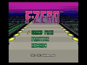 F-Zero Title
