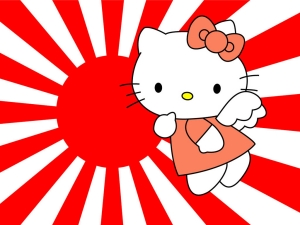 Is Hello Kitty giving me the finger?