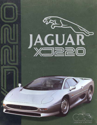 Jaguar XJ220 box Amiga