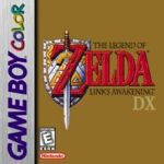 Legend of Zelda logo for Game Boy Color