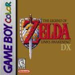 Legend of Zelda logo for Game Boy Color