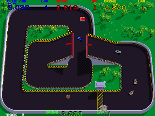 Super Sprint - Gameplay Screenshot 1