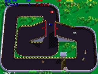 Super Sprint - Gameplay Screenshot 1