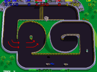 Super Sprint - Gameplay Screenshot 2