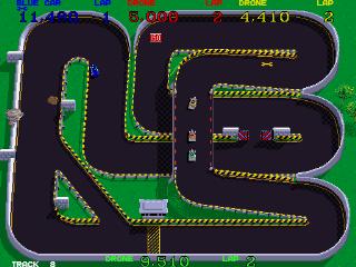 Super Sprint - Gameplay Screenshot 3