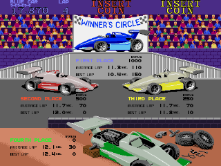 Super Sprint - Select Screen