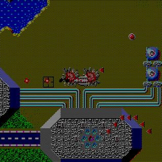 Thunder Force - Gameplay Screenshot