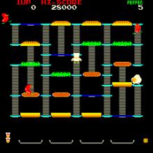 Burger Time gameplay