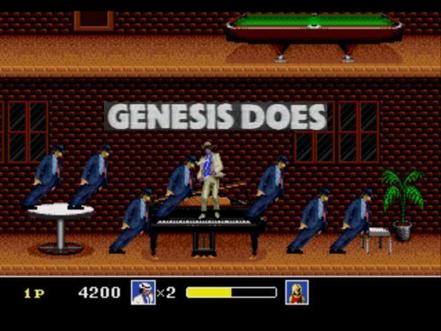 Genesis Does Michael Jackson Moonwalker