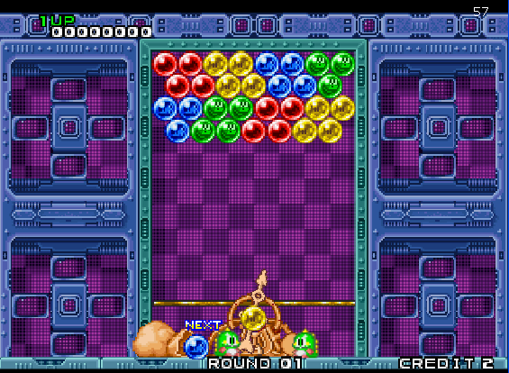 Puzzle Bobble screenshot