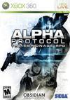 Alpha Protocol Xbox box cover