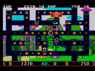 Fantasy Zone The Maze Screenshot