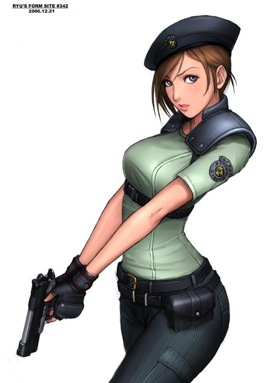 Jill Valentine Resident Evil fan art