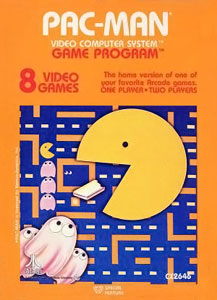 Atari Pacman box art