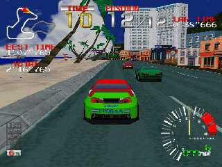 Ridge Racer - Gameplay Screenshot 1