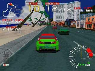 Ridge Racer - Gameplay Screenshot 1