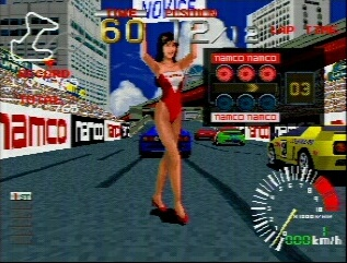 Ridge Racer - Gameplay Screenshot 2
