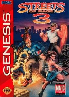 Streets of Rage 3 - Sega Genesis - Gameplay