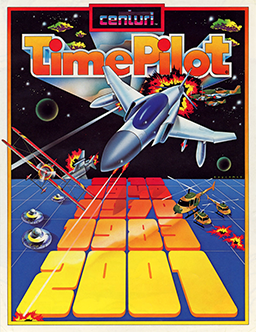 Time Pilot box art
