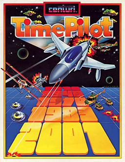 Time Pilot box art