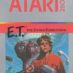 Atari ET game box art
