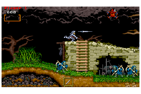 Ghouls N Ghosts screenshot