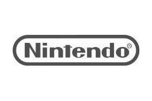 Nintendo logo in grey
