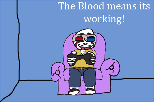 3D Blood Gaming