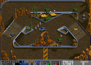 Badlands - Gameplay Screenshot 2