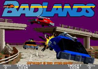 Badlands - Title Screen