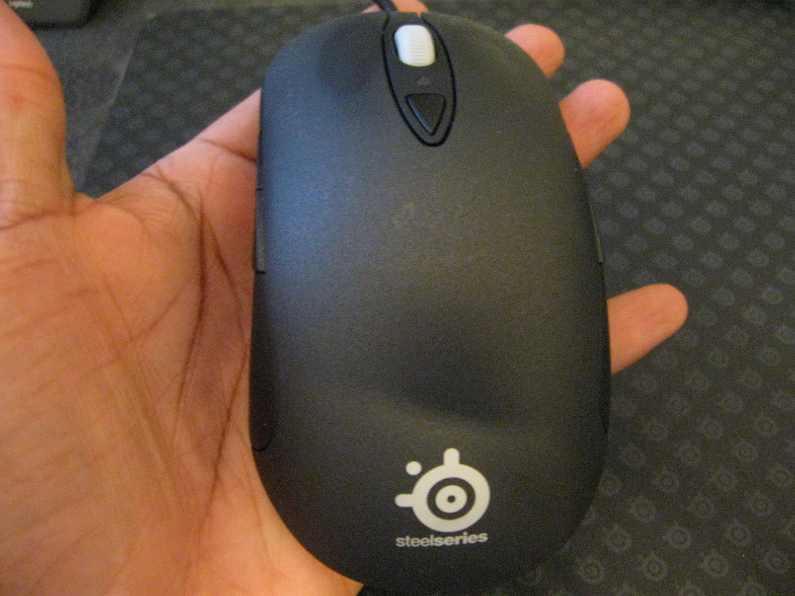 Steelseries XAI laser mouse