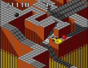 Marble Madness - Gameplay Screenshot 4