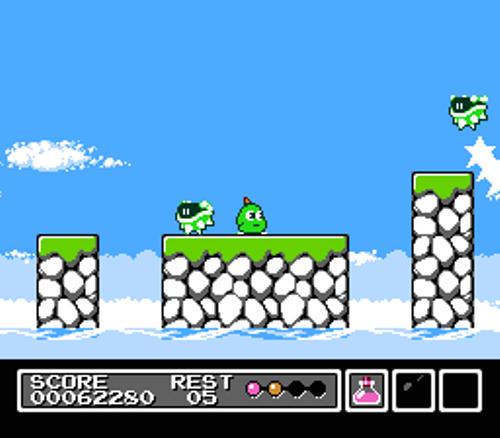 Mr. Gimmick - Gameplay - Screenshot
