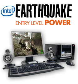 Earthquake entry level power