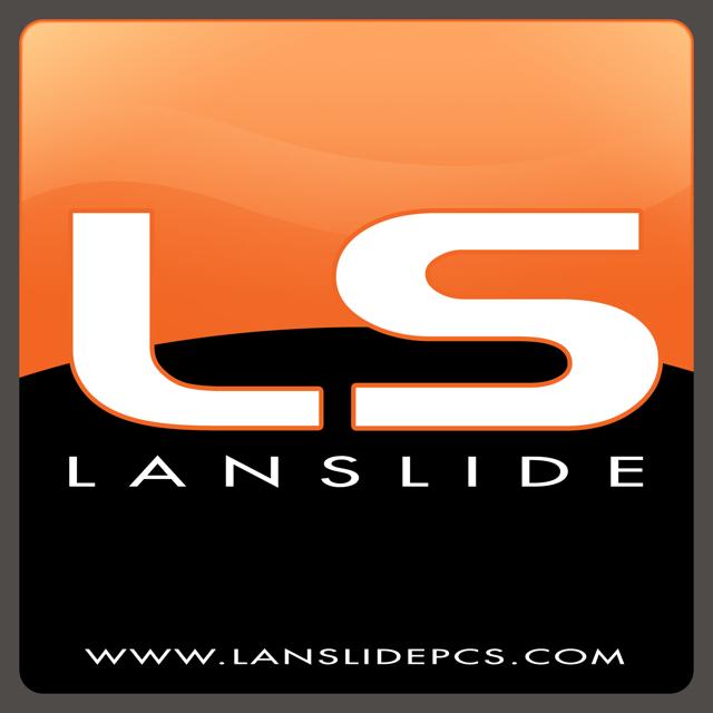LanSlide Gaming PCs logo