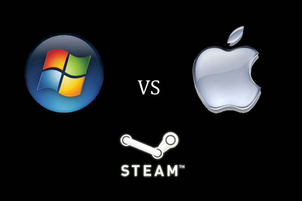 PC vs Mac Steam