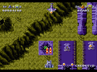 Battle Squadron - Gameplay Screenshot 1