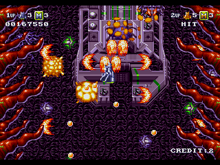 Battle Squadron - Gameplay Screenshot 2