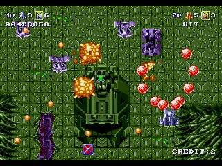 Battle Squadron Screenshot