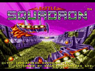 Battle Squadron - Title Screen