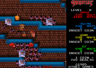 Gauntlet - Gameplay Screenshot