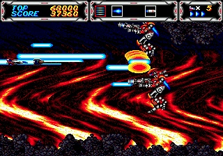 Thunder Force 3 Screenshot