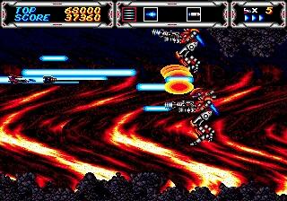 Thunder Force 3 Screenshot