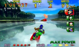 Wave Race 64 - Gameplay Screenshot 2