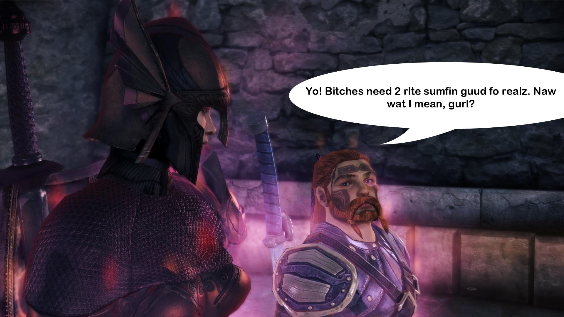 Dragon Age Origins bitches