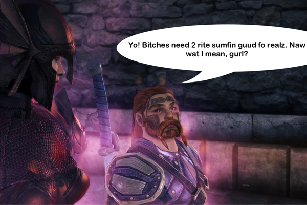 Dragon Age Origins bitches