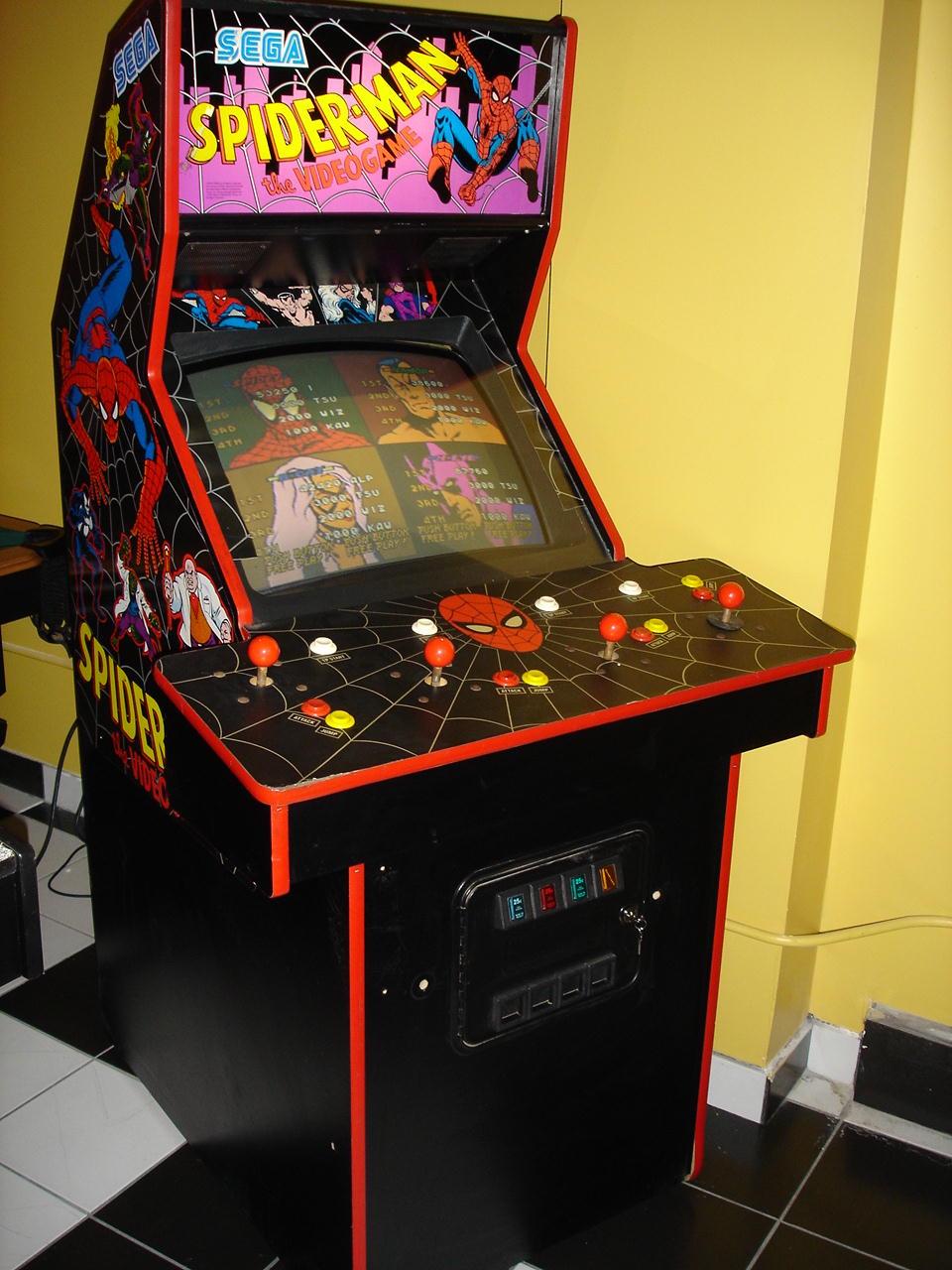 Spider-Man - The Video Game arcade cabinet
