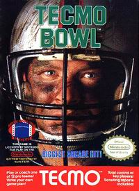 Tecmo Bowl box