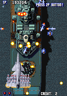 Aero Fighters - Sonic Wings - Gameplay Screenshot